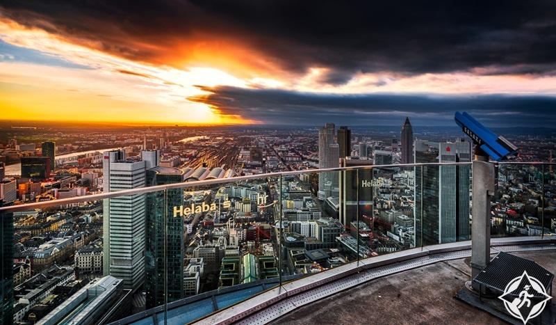 ألمانيا-فرانكفورت-البرج-الرئيسي-أماكن-الترفيه-في-فرانكفورت
