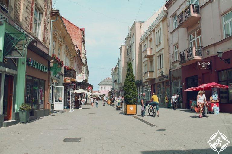 أوكرانيا-أوزهورود-شوارع أوزهورود-أجمل مناطق أوكرانيا