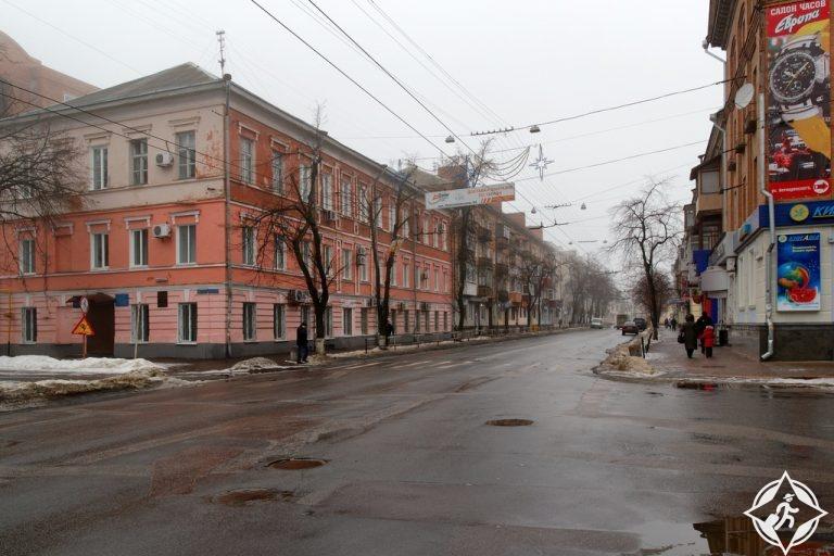أوكرانيا- بولتافا-شوارع بولتافا-أجمل مناطق أوكرانيا