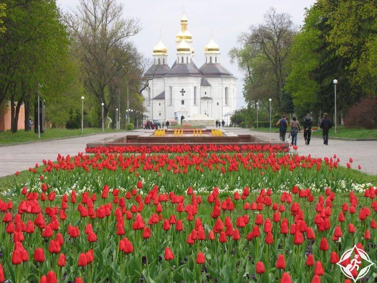 أوكرانيا-تشيرنيهيف-كنائس تشيرنيهيف-أجمل مناطق أوكرانيا
