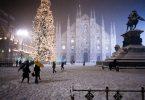إيطاليا-ميلانو-مدينة ميلانو-ميلانو في الشتاء
