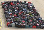 الحقائب المفقودة