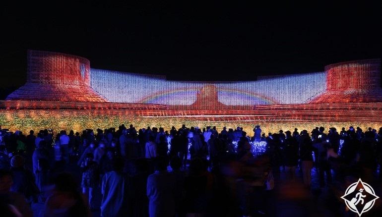اليابان-منتجع ناجاشيما-المعرض الرئيسي-مهرجان نابانا نو ساتو