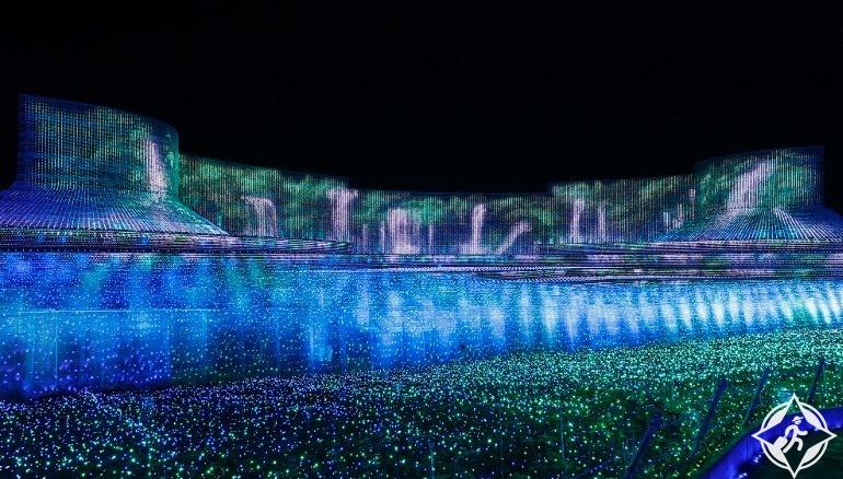 اليابان-منتجع ناجاشيما-بحيرات بليتفيتش-مهرجان نابانا نو ساتو