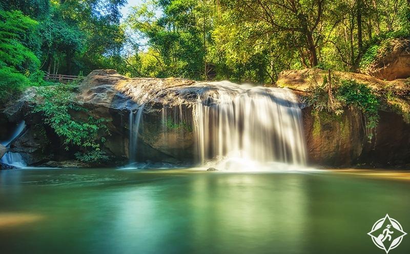 تايلاند-شنغماي-شلال ماي سا-شلالات شنغماي