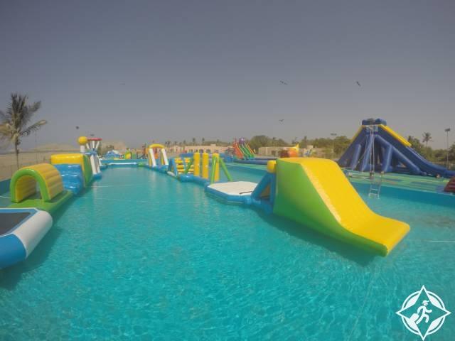 سلطنة عمان-حديقة أكوا فن المائية-أماكن ترفيهية في سلطنة عمان