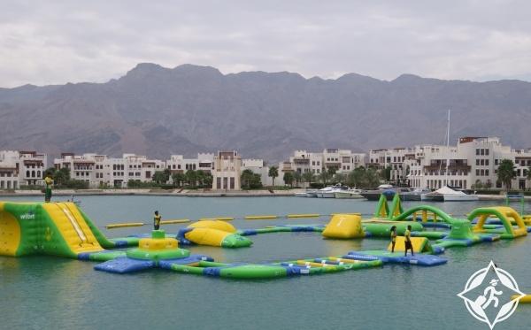 سلطنة عمان-حديقة الألعاب المائية في السيفة-أماكن ترفيهية في سلطنة عمان
