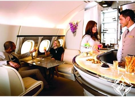 طيران الإمارات تطلق تصميم جديد للصالون الجوي على طائرات A380