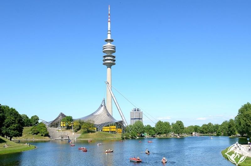 ألمانيا-ميونخ-البرج الأولمبي-الأماكن السياحية في ميونخ