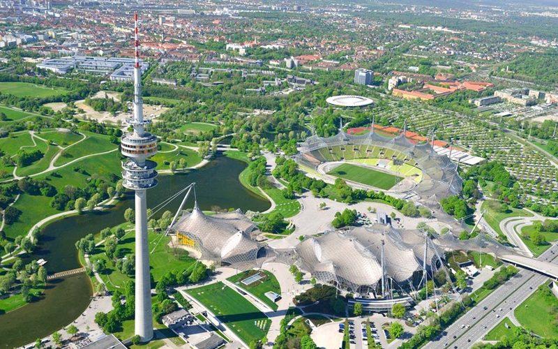 ألمانيا-ميونخ-الحديقة الأوليمبية-الأماكن السياحية في ميونخ