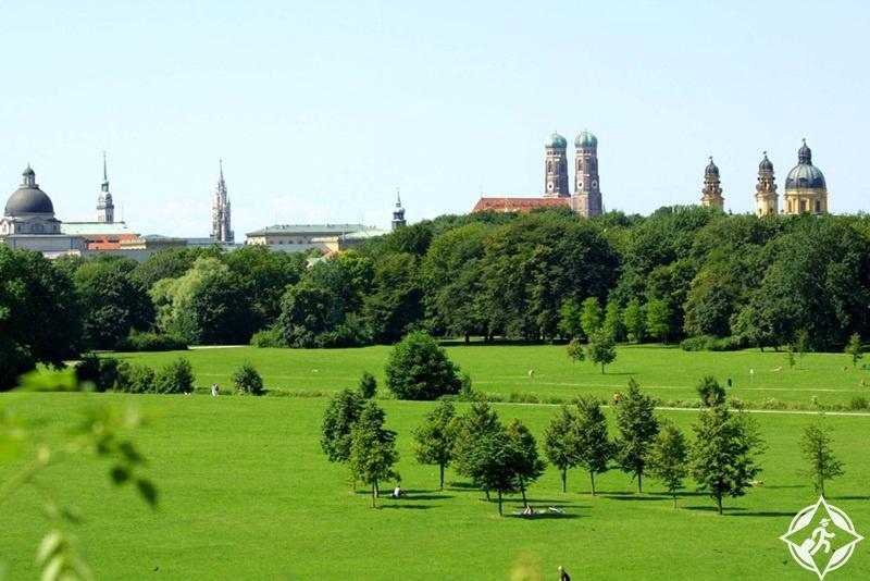 ألمانيا-ميونخ-الحديقة الإنجليزية-الأماكن السياحية في ميونخ