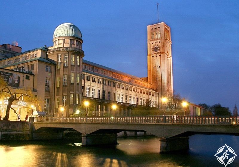 ألمانيا-ميونخ-المتحف الألماني-الأماكن السياحية في ميونخ