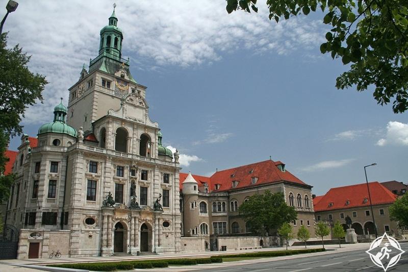 ألمانيا-ميونخ-متحف بافاريا القومي-الأماكن السياحية في ميونخ