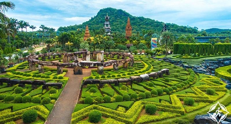 تايلاند-بتايا-حدائق تايلاند-حديقة نونغ نوش الاستوائية 1
