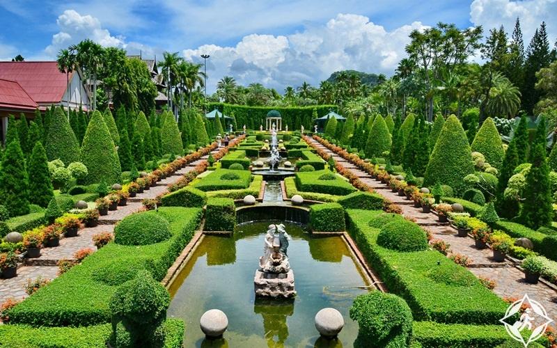 تعرف على.. حديقة نونغ نوش الاستوائية في تايلاند