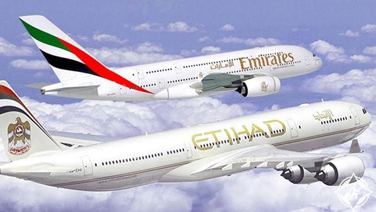 الاتحاد للطيران-طيران الإمارات