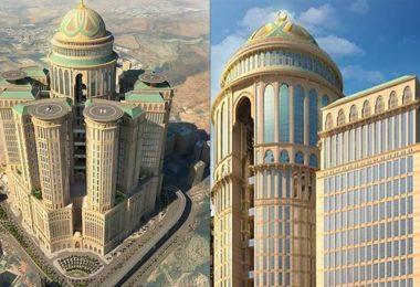 أبراج كدي بمكة المكرمة أكبر فندق في العالم
