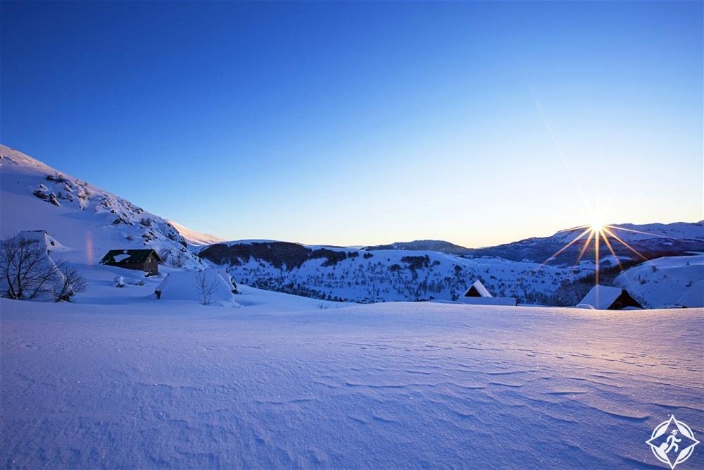السياحة في البوسنة والهرسك - التزلج في بجيلاسنيكا