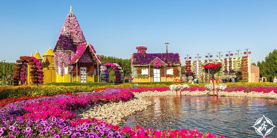 شاهد حديقة الزهور في دبي في 20 صورة مذهلة