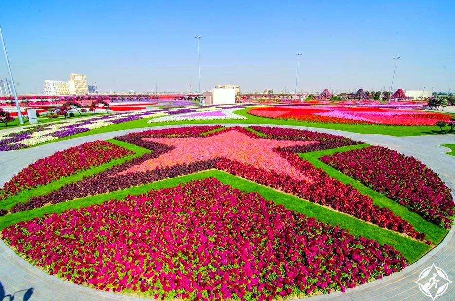 حديقة الزهور في دبي 9