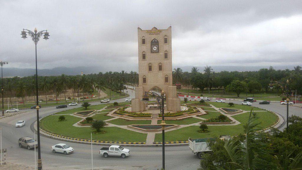 سلطنة عمان-برج النهضة-صلالة