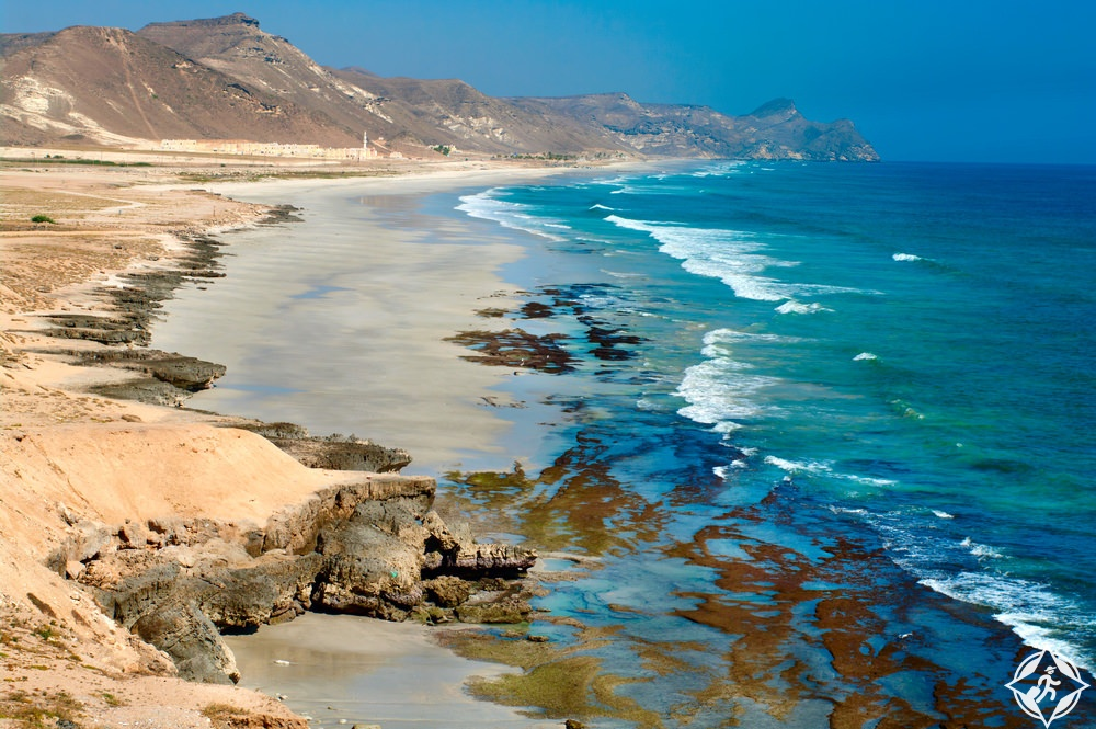 سلطنة عمان-شاطئ المغسيل-صلالة