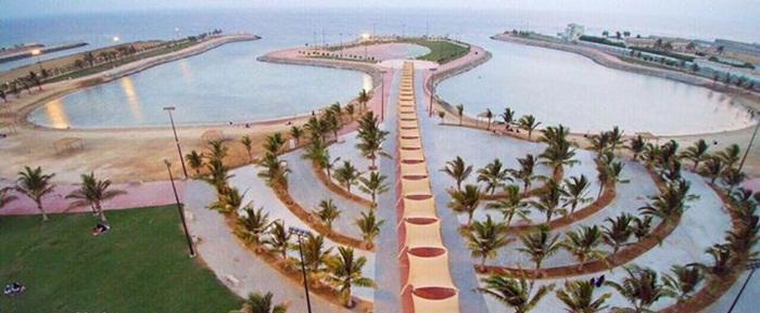 مدينة البحيرات - متنزه ذهبان البحري 2