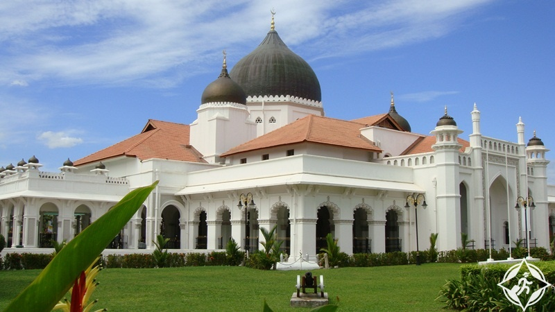الأماكن السياحية في جورج تاون - مسجد كابيتان كيلينغ