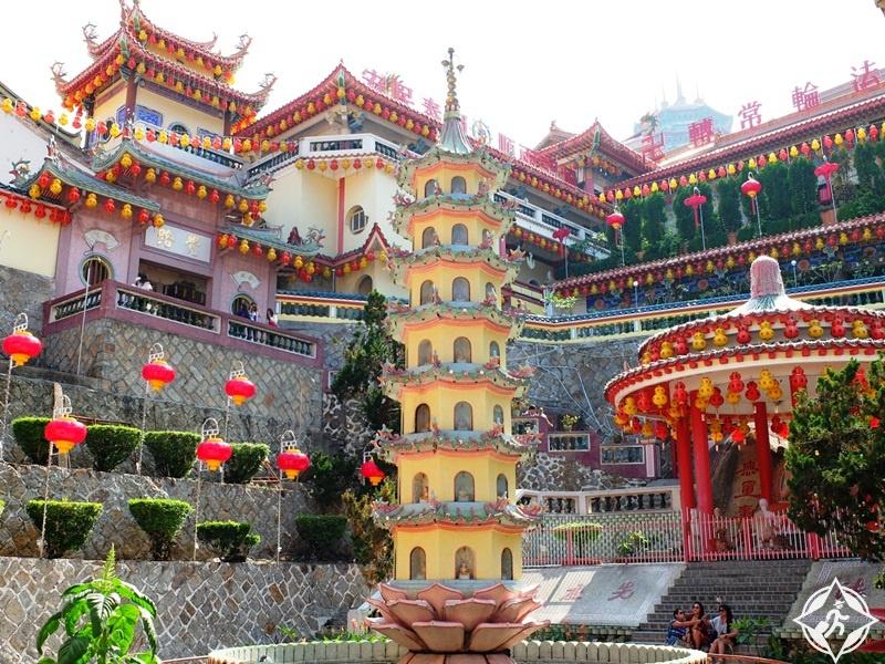 الأماكن السياحية في جورج تاون - معبد كيك لوك سي