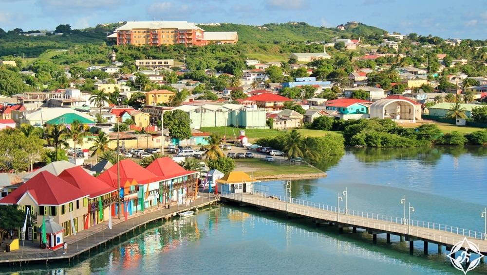 السياحة في أنتيغوا وبربودا- سانت جونز