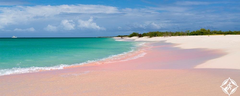 السياحة في أنتيغوا وبربودا- شاطئ 17 ميل