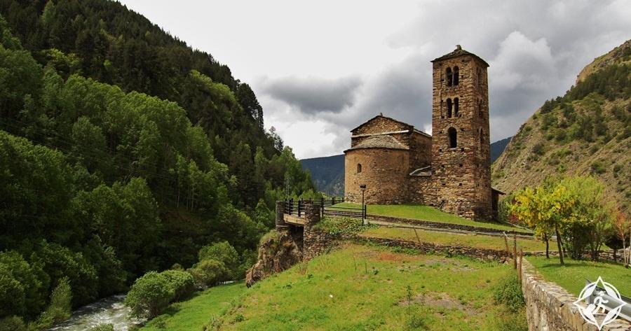 السياحة في أندورا - كنيسة سانت جوان دي كاسيليس