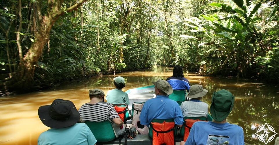 السياحة في كوستاريكا - حديقة تورتوغيرو الوطنية