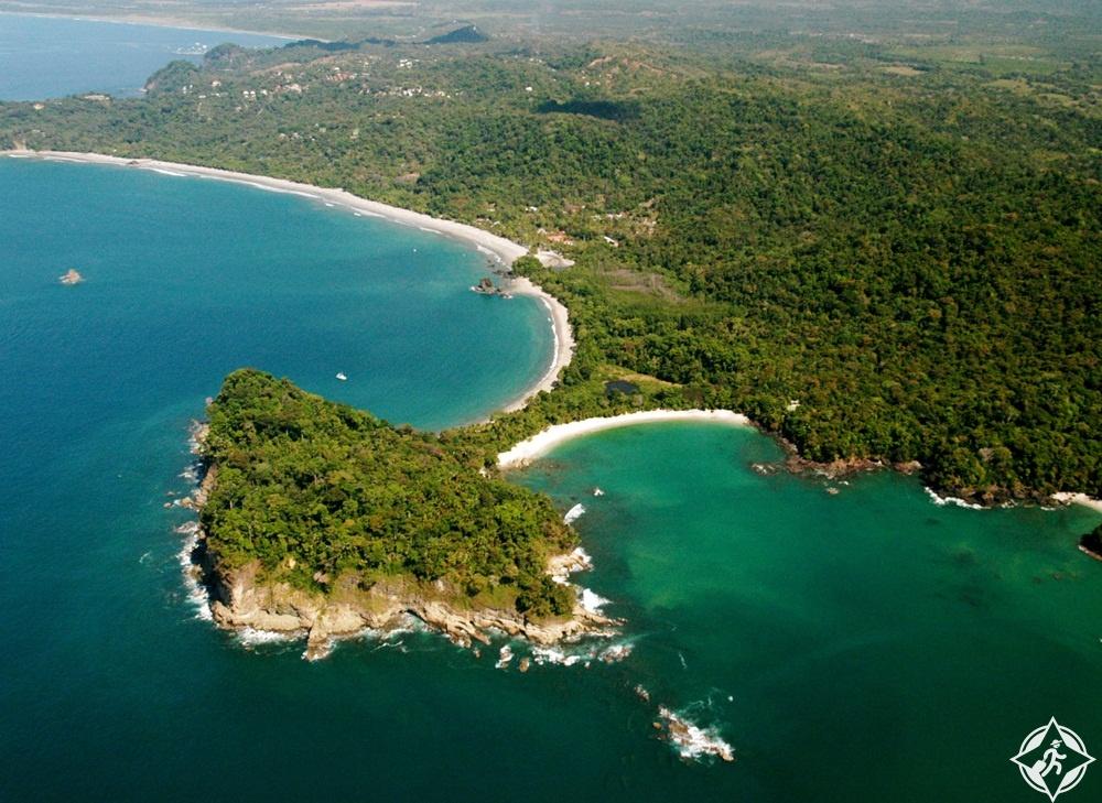السياحة في كوستاريكا - حديقة مانويل أنطونيو الوطنية