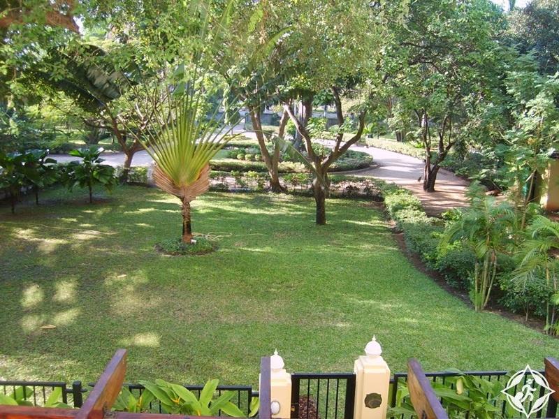 المعالم السياحة في دار السلام - الحدائق النباتية