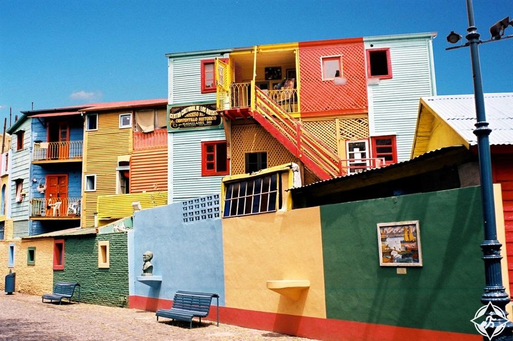 المعالم السياحية في بوينس آيرس - حي لا بوكا