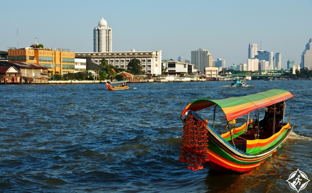 جدول سياحي في بانكوك - نهر تشاو فرايا