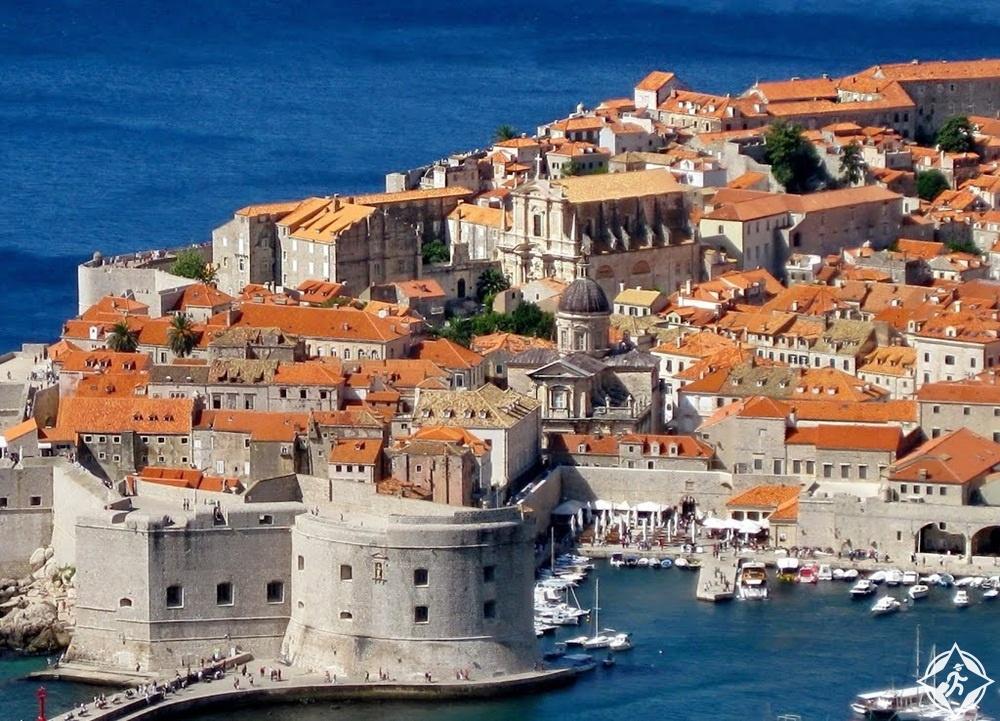 معالم الجذب في كرواتيا - الجدران القديمة لمدينة دوبروفنيك