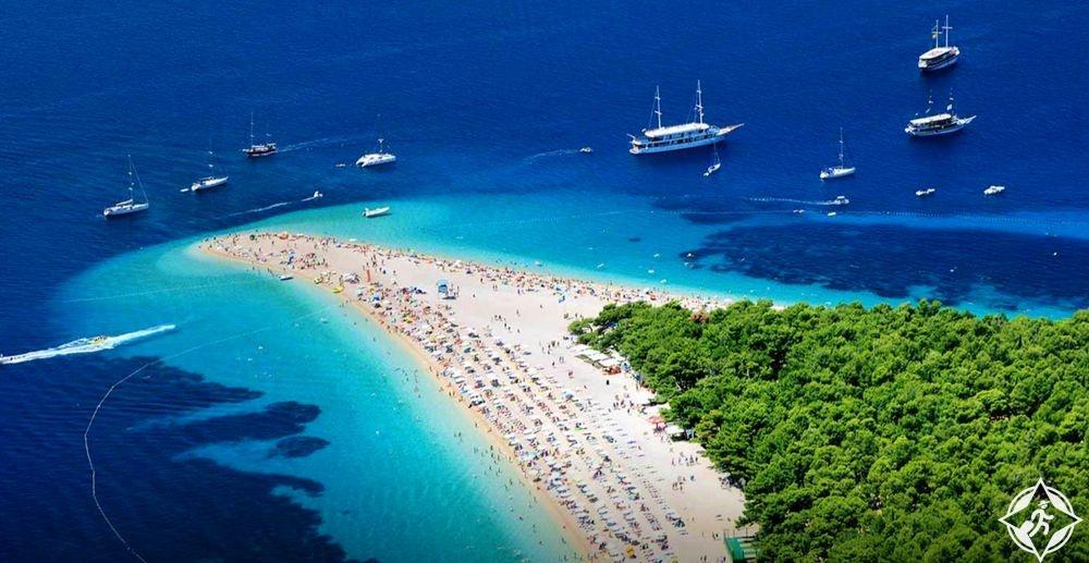 معالم الجذب في كرواتيا - شاطئ زلاتني رات