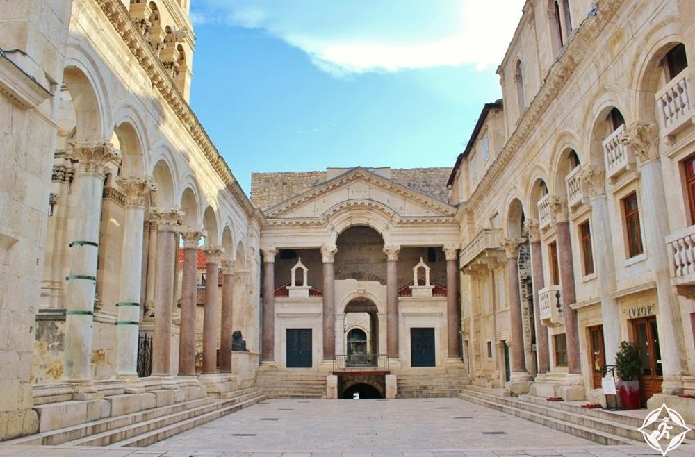 معالم الجذب في كرواتيا - قصر دقلديانوس في سبليت