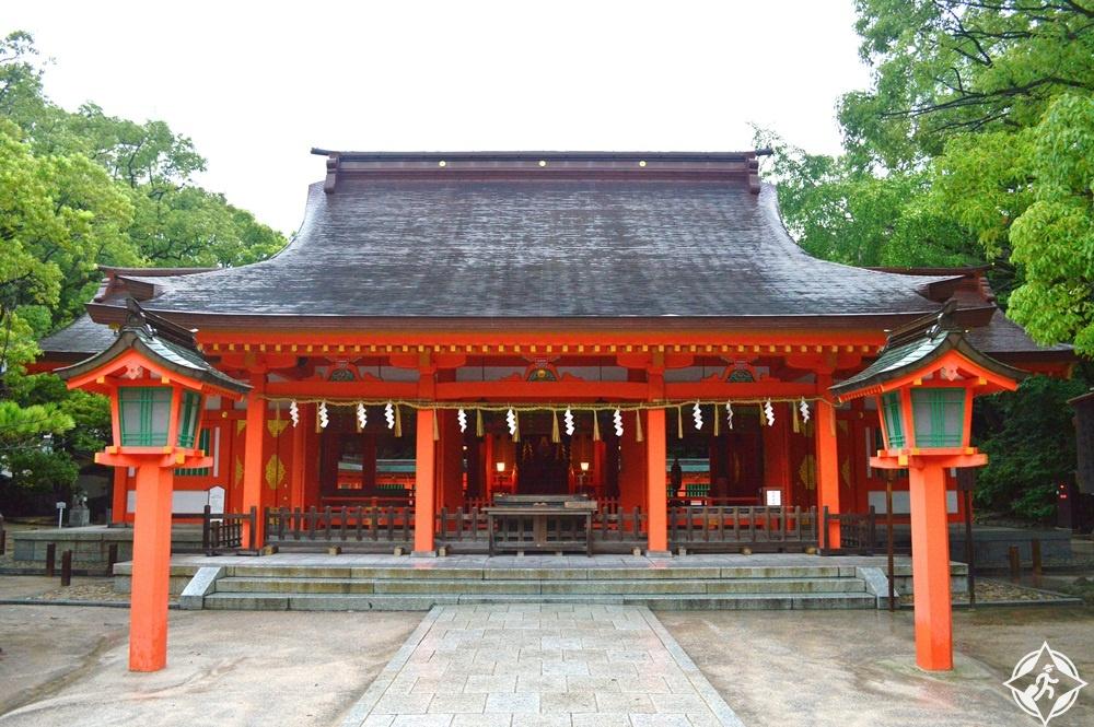 السياحة في فوكوكا - ضريح سومييوشي-جينيا