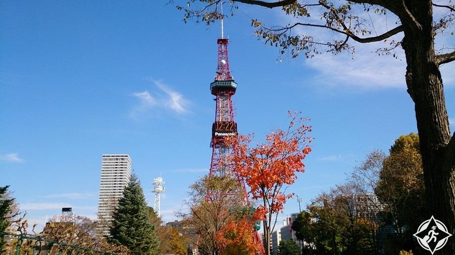المعالم السياحية في سابورو - برج التلفزيون