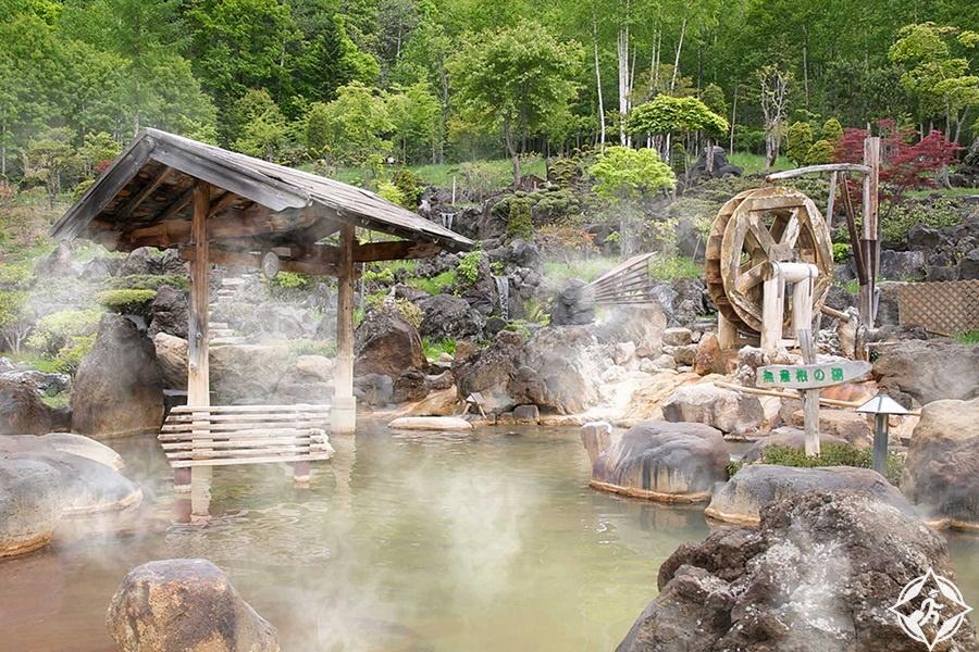المعالم السياحية في سابورو - جوزانكي أونسن هوت سبرينغ