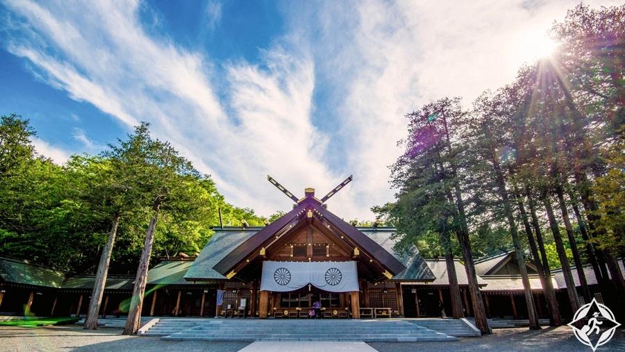 المعالم السياحية في سابورو - ضريح هوكايدو