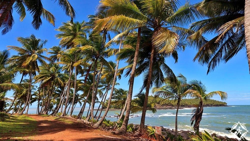 المعالم السياحية في غويانا - شاطئ هاتس