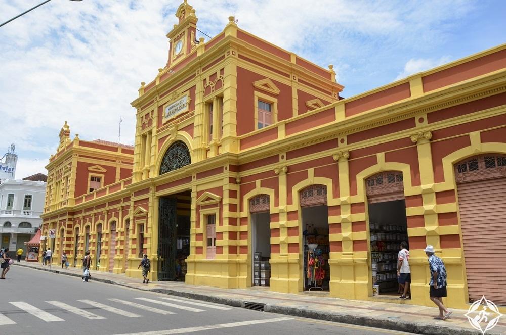 المعالم السياحية في ماناوس - سوق ميركادو أدولفو لشبونة