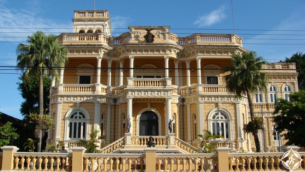 المعالم السياحية في ماناوس - قصر ريو نيغرو