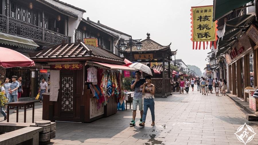 المعالم السياحية في هانغتشو - شارع تشينغهفانغ أنسيانت