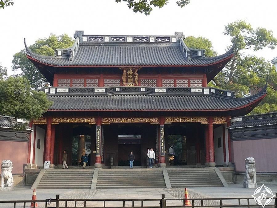 المعالم السياحية في هانغتشو - معبد يوي فاي