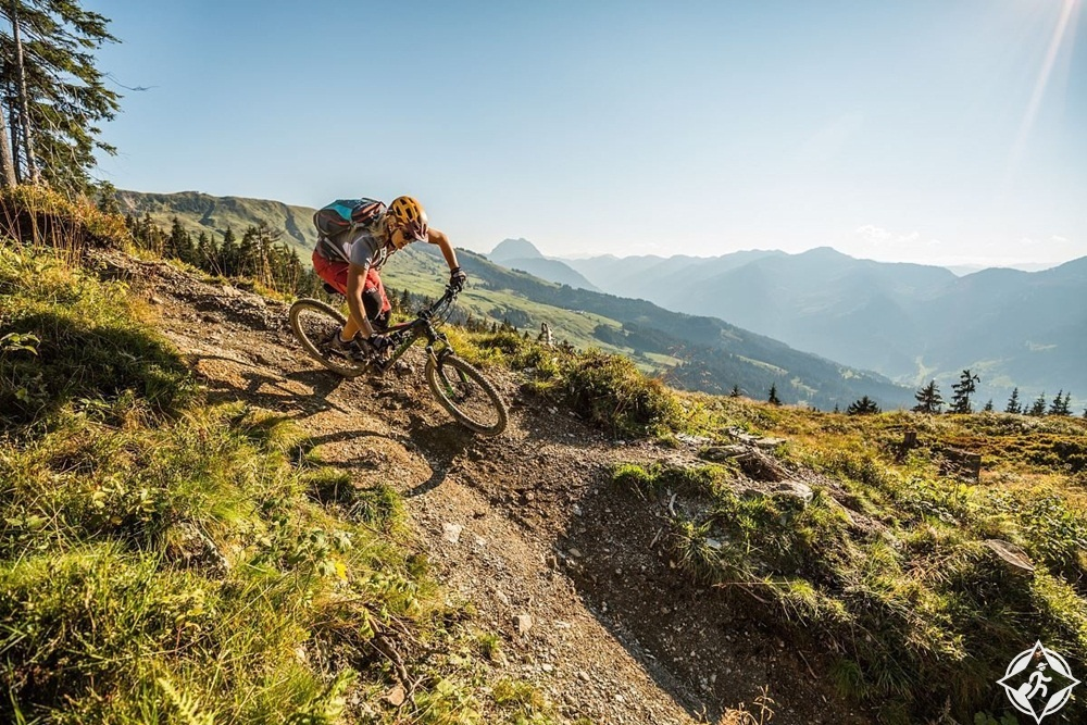 كيتزبوهيلر - المشي لمسافات طويلة وركوب الدراجات